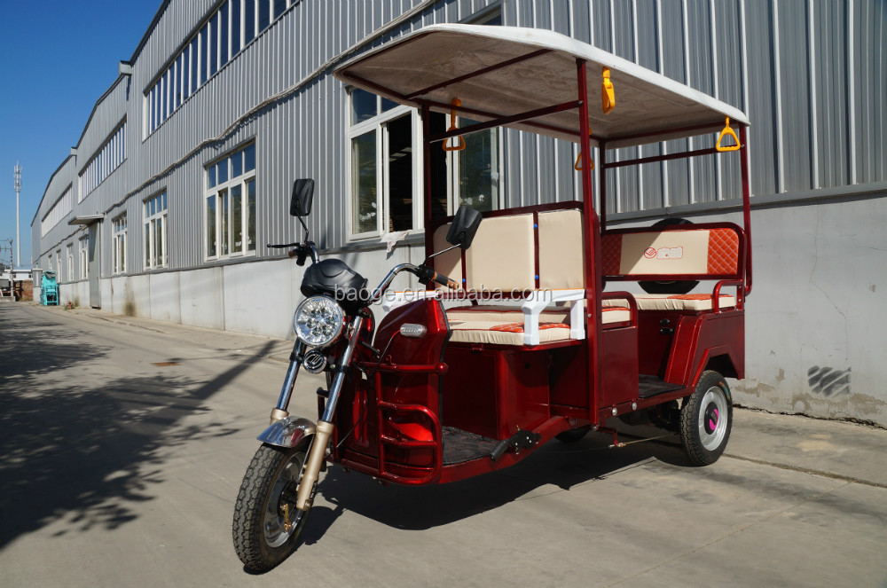 Electric adult big tricycles with wagon