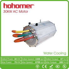 Hohomer Tailored High-efficent DC336v AC238v 3600rpm 30kw Electric Automatic Motor Vehicle for Tricycle