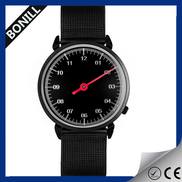 Best selling products sapphire watch swiss quartz black mesh watch