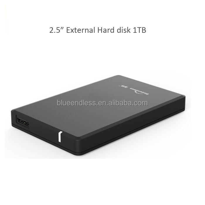 Blueendless usb3.0 external hdd 1tb for files storage mobile 1tb external hard disk