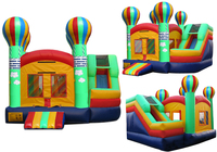 Hot Air Balloon Slide /jumping castle with slide/jumping house