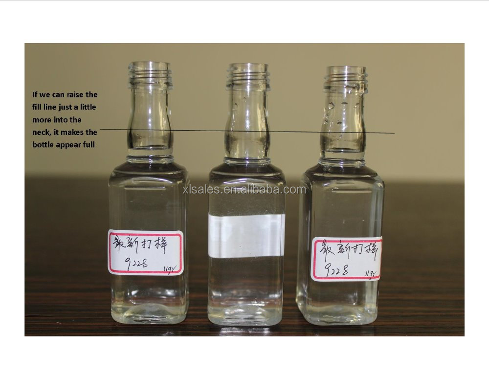 EMPTY 50 ML PLASTIC LIQUOR BOTTLES SALE