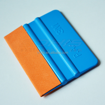A02S 3m squeegee with suede edge no scratch on glossy vinyl tool