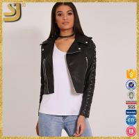 SHANGYI womans custom made premium quality motorbike racing leather jacket all sizes & colors, cow print leather jacket