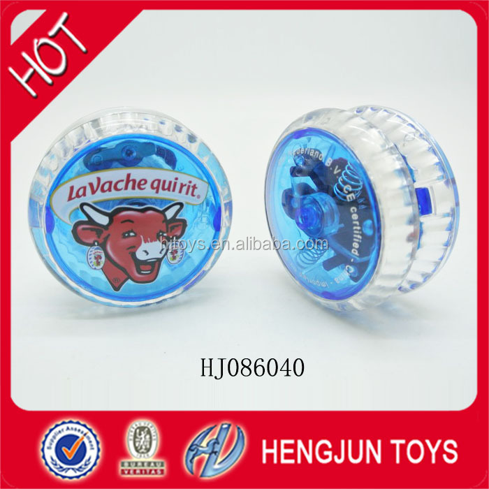Giving 150$ cash coupon LED plastic yoyo ball with EN71/7P