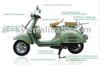 ZF125T-X Cheap 125cc gas scooter for sale