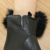 2016 Spring winter black lamb skin women leather dress gloves with fur