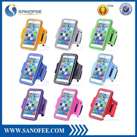 Wholesale High Quality for iphone 5 armband Cases, Universal Running Sport Armband for iPhone 5 5S, reflective armband