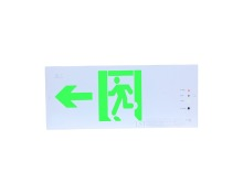LST Green color LED exit sign for fire safety escape CE certificated exit sign wall mounted exit sign