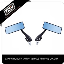 wholesale hot high quality black motorcycle rear side mirror universal design
