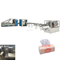 High speed facial paper soft packing production line