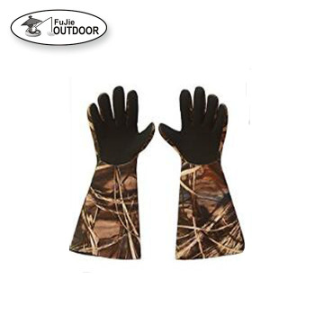 2019100% Waterproof Duck Hunting Decoy Neoprene Gloves