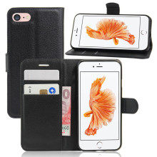 Wholesale wallet design cell phone pu leather case for iphone 8