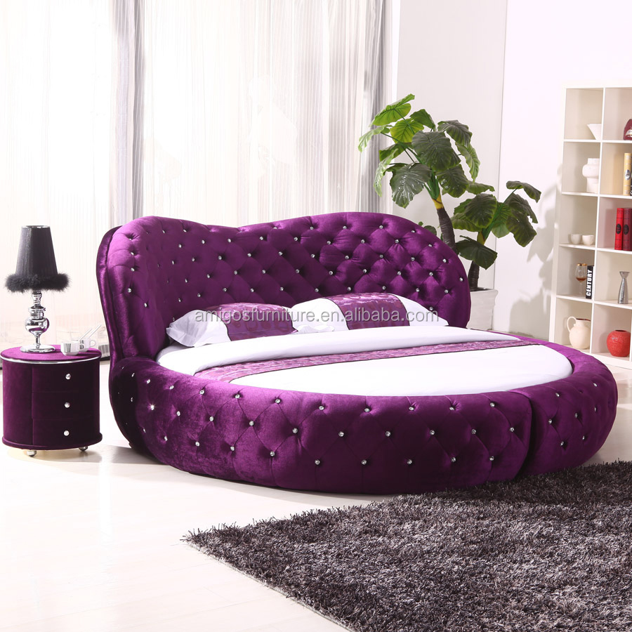 Italian Design Furniture Wooden Double King Bed Deisgns Simple Bed ...
