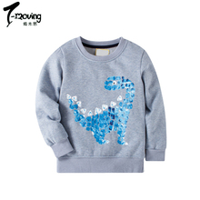 Cheap Baby Boys Sweatshirts Long Sleeve <strong>Children</strong> Cotton Boys Pullover <strong>Hoodies</strong> Top