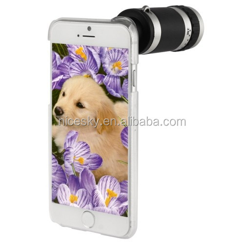 hot Universal 8X Optical Zoom Telescope Camera Lens for Mobile Phone iPhone 4S 4G 5G 5S 5C 6 Samsung i9300 S4 S3 Galaxy Note 2 3