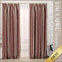 Wholesale decorative fashion ready made emboss woven home curtain window