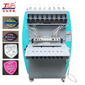 patch pvc brand jeans logo automated glue dispenser machine