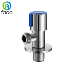 FAAO Strong and durable stainless steel triangle valve