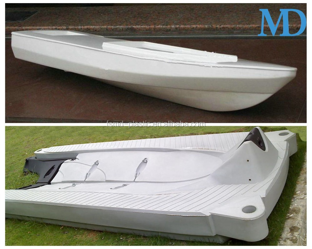 high quality and reasonable price ABS plastic vacuum formed bait boat hull
