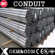 UL listed galvanized EMT electrical conduit gi conduit