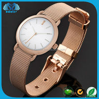 Stainless Steel Jewelry Ladies Bracelet Wrist Watch