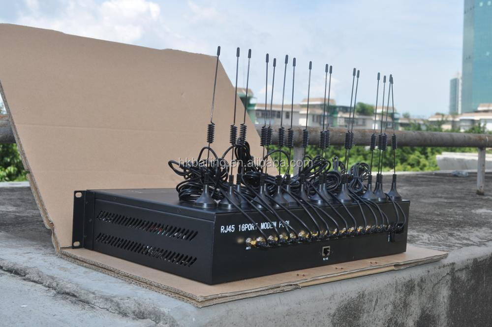 rack type bulk sms gateway 8 port modem poo 3G SIM5215E module 1U modem pool