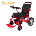Lightweight adjustable 5-seconds folding or unfolding easy to carry handicapped power electric wheelchair