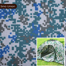 Cheap camo ripstop fabric blue camouflage fabric