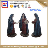 high quality virgin mary statues wholesale and grace blessed virgin mary mother figurines and resin virgin mary for decoration