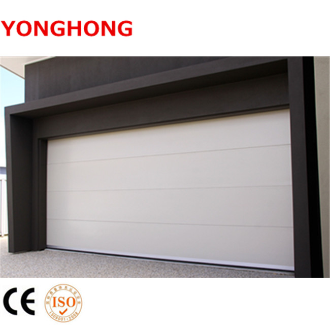 Remote control electric steel material insulated sectional overhead automatic overhead garage <strong>door</strong>
