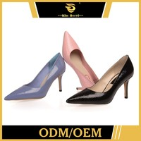 Custom-Tailor Gold Fashion High Heel Protect Woman Shoes