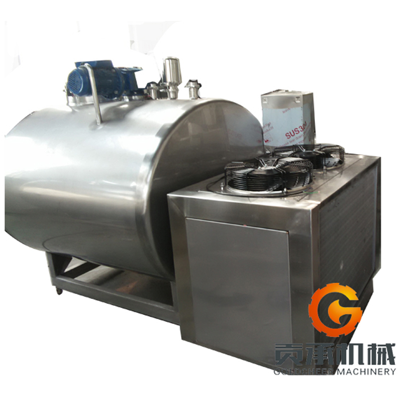We have the milk cooling storage 500 liter stainless steel tank
