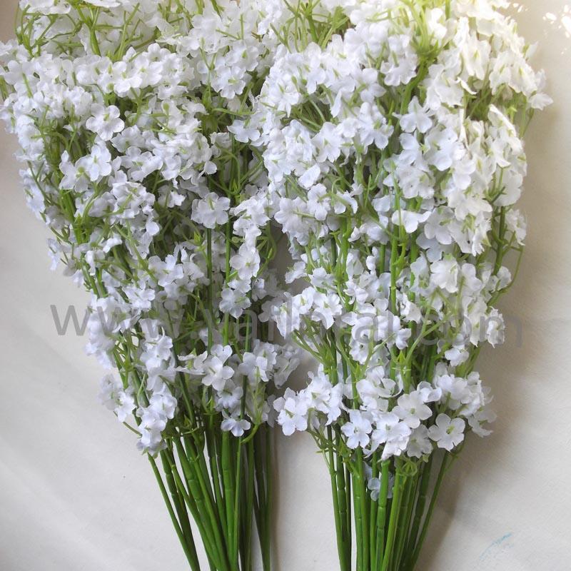 Wedding bouquet silk gypsophlia artificial baby breath flowers artificial flower bouquet for wedding silk babys breath2g mightylinksfo