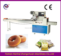 fast speed flow wrap machine packaging for churros