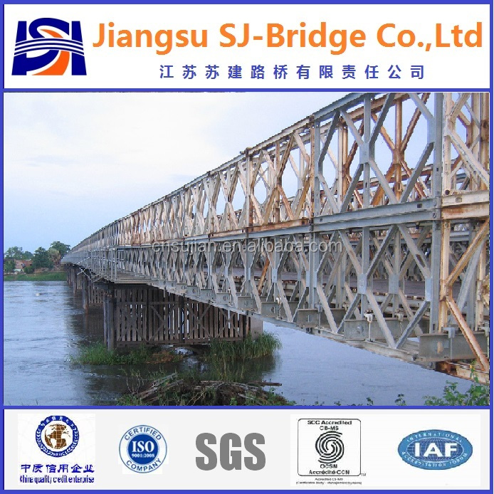 HD200 CB100 (321) Steel Truss Bailey Bridge/ Modular Steel Bridge
