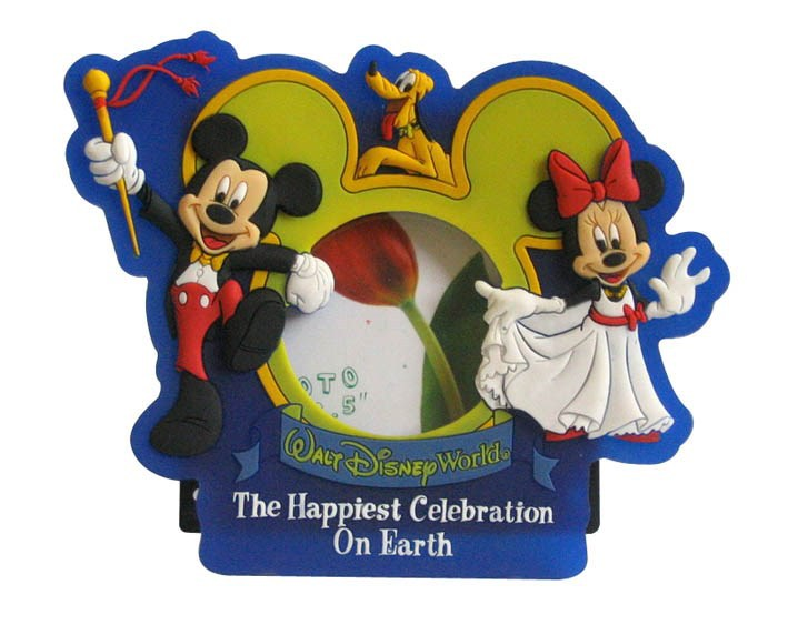 Mickey minnie mouse love photo frame / photo picture frame