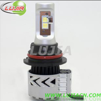High Performance 12V 36W 6000lm 9004 G8 LED Headlight 6500K with Crees XHP50 chip, Smallest Size Easiest Installation for Cars