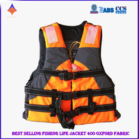 High Quality 400D Oxford Fabric Portable Life Jacket Accept Size and Logo Printed Personalized