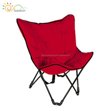 2016 high quality mould outdoor furniture folding butterfly chair
