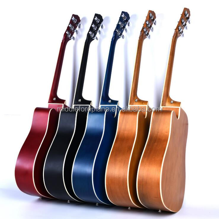 wholesale high quality custom acoustic guitar China
