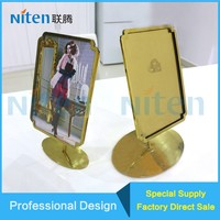 Artificial handmade Craft Metal Love Photo Frame Picture Frame with Business Card Holder