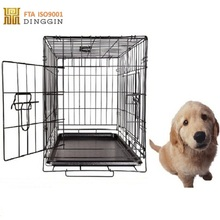 black finish wholesale dog cages with many sizes