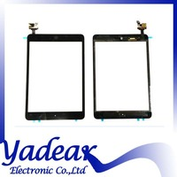 Black Touch Screen Glass Digitizer with IC Chip Front Lens Assembly For iPad Mini 2