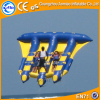 4*3m 6 seater Golden Supplier Inflatable Fly Fish, cheap inflatable water games