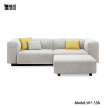 High End Fabric sectional sofa,Latest Home Sofa Set,Modern soft L shaped sofa