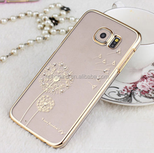 Luxury Dandelion Diamond Case Cover For Samsung Galaxy Note 4 5