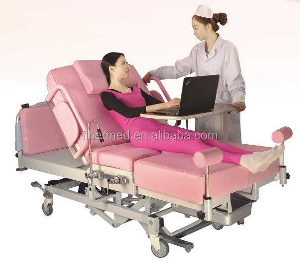 Maternity gynecology LDR birthing table