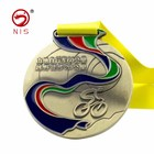 Profession 3d custom bodybuilding metal bicycle sports medals