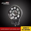 SANMAK High Power LED Work Light with High Heat Dissipation Mini LED Offroad Driving Light for motorcycle 42w 5.5inch